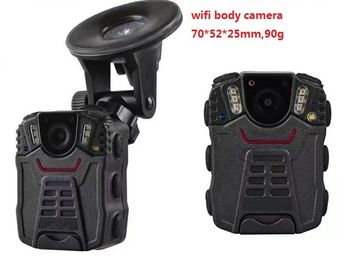 China Portable WIFI Police Worn Cameras Waterproof IP66 With 2 Inch Screen supplier