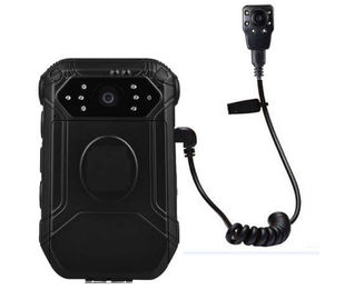 China Mini Button HD Body Camera IP65 , External Police Worn Cameras With Face Detect supplier