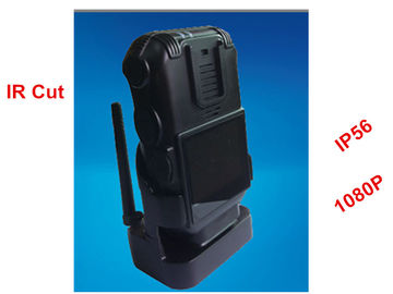 China Wireless Police Wearing Body Cameras , High Resolution Police Personal Camera 3.5 V supplier