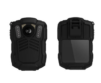 China Portable Wireless Android Body Camera 140 Degree Lens For Police Enforcement supplier