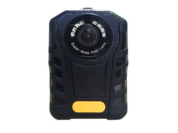 China Portable Police Dvr Recorder 2900 MAh Lithium Battery 140 Degree Wide Angle supplier