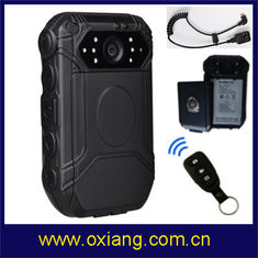 China Wifi Police Worn Cameras 160 Kilogram , Spy Waterproof Body Camera IP65 supplier