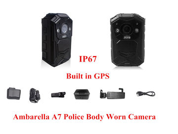 China 1080 P Night Vision Body Worn Camera 4608*3456 JPEG 2 Meters Shock Proof supplier