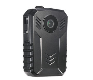 China Multifunction Body Worn Police Video Camera 135 G With Epaulet Clip supplier