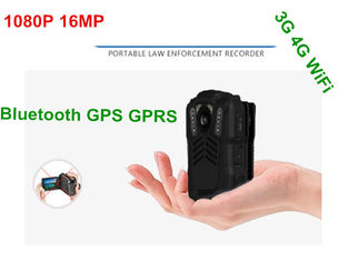 China HD Wifi Body Camera Battery Operated , Police Personal Body Video Camera supplier