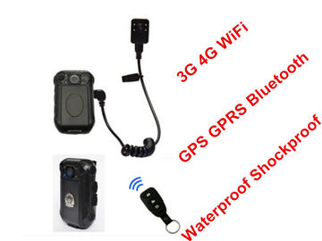 China GPS / GPRS Bluetooth WIFI Body Camera 130° Wide Angle Lens FCC Approved supplier
