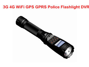 China 3G / 4G Police Security Flashlight MTK8735 Chipset With 3600 MAH Battery supplier