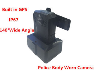China Durable Mini Law Enforcement Body Camera Wide Angle 140 Degrees CE Standard supplier