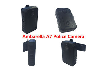 China Durable Police Camera Recorder Ambarella A7 2900 MAH Lithium GPS Supported supplier