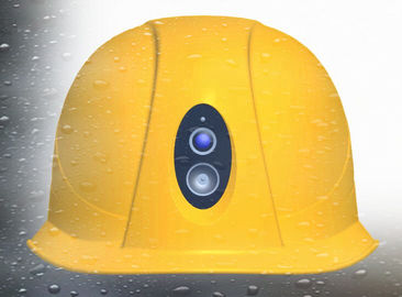 China Shock Proof Safety Hard Hats With Camera Below Zero 30-70 Degrees Temperature supplier