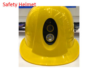 China CE Safety Helmet Camera 289*233*150 Mm With Replaceable 2300 MAh Battery supplier