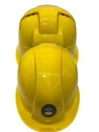 China Hd Safety 4G Helmet Camera Yellow Color MTK8735 Chipset Replaceable 2600 MAh Battery supplier