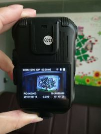 China Durable Black Police Camera Recorder 3600 MAh Lithium Replace Battery Support GPS supplier