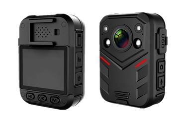 China Full HD 1080P Wearable Body Camera Multi Functional IR Night Vision 2.0'' Touch Screen supplier