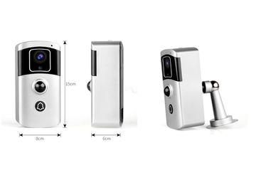 China Multi-function Two in one WIFI Doorbell Camera 1080P 2Mega Pixels Battery Camera supplier