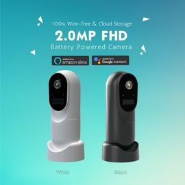 China 1080P Wifi Security Camera 120° View Angle With Amazon Alexa / Google Assistant supplier