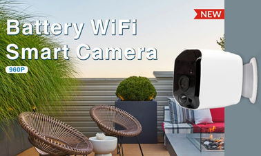 China Wireless Wifi Security Camera Battery Powered HD 960P Resolution Support Night Vision supplier