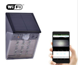 China Solar Battery Wifi Security Camera Ourdoor Waterproof IP65 Hidden CCTV IP Light Type supplier
