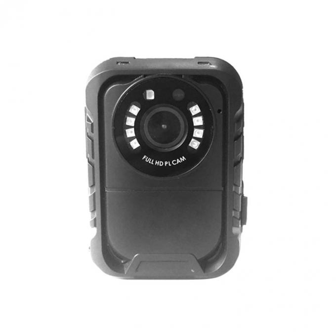 155 G Police Body Video Camera 8 IR Light HDMI 1.3 Port With Visible Face Image