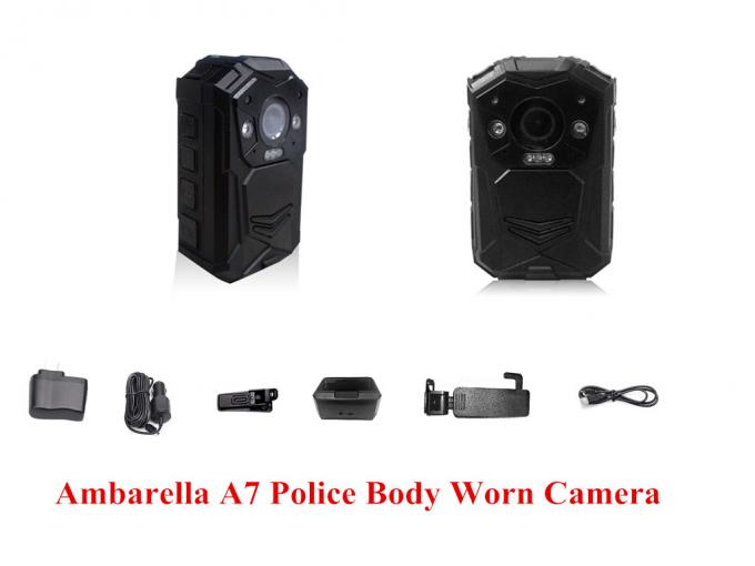 1080 P Night Vision Body Worn Camera 4608*3456 JPEG 2 Meters Shock Proof