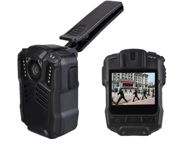 Portable Wireless Android Body Camera 140 Degree Lens For Police Enforcement
