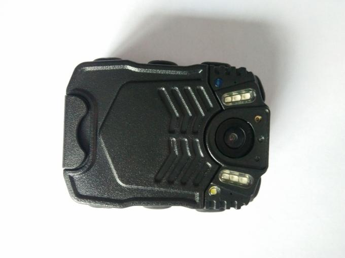 High Resolution Black Law Enforcement Body Camera 5.0 MP CMOS Sensor For Police