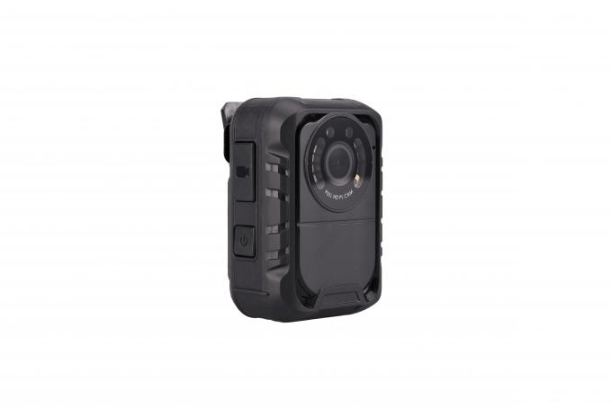 Full HD Police Video Camera ABS Material 80*57*35 Millimeter Dimension