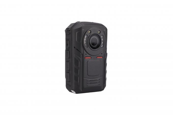 Durable Body Worn Police Video Camera 140 Degree Wide Angle GPS Supported