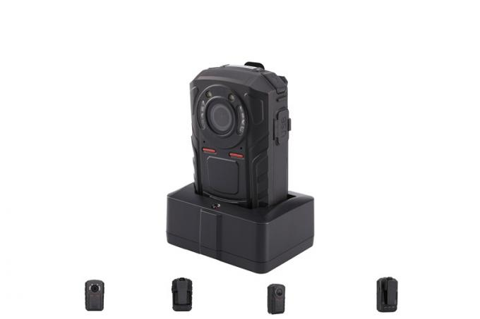 1080 P Body Worn Video Camera IP66 , 5MP Police Dvr Recorder ABS Material