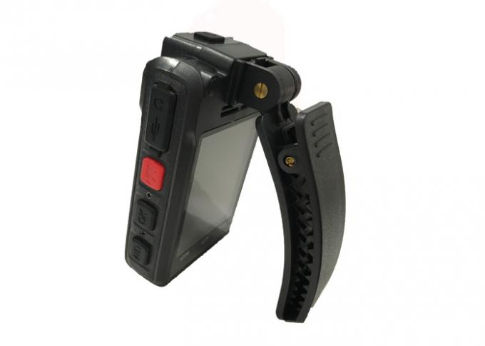 Bluetooth GPS Law Enforcement Video Camera 2.0 USB Port With 2.8 '' LCD Screen