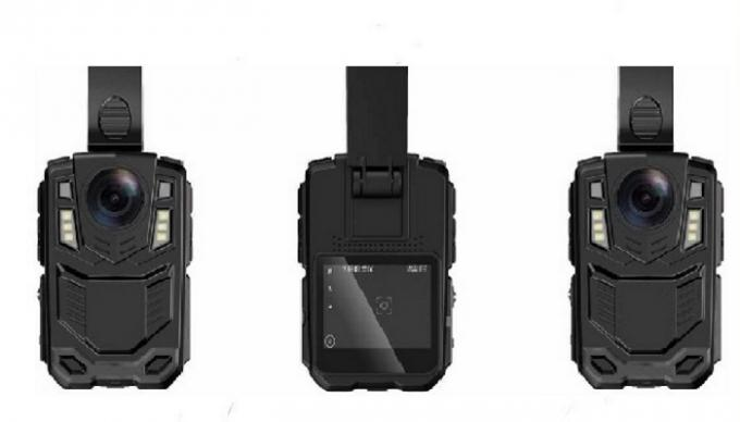 Multi - Functional Police Wearing Body Cameras , WiFi Body Worn Camera With Night Vision