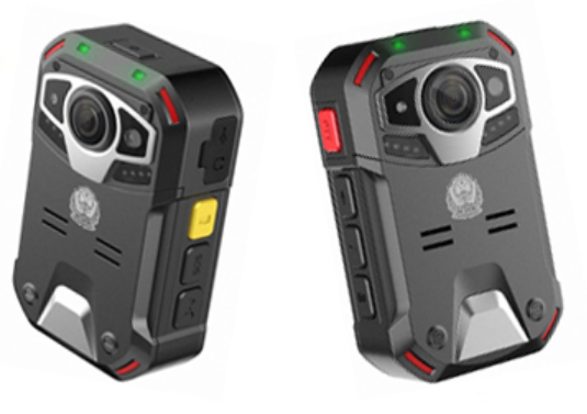 IP67 2.0 Inches Body Worn Video Camera Replaceable Attery With 140° View Field