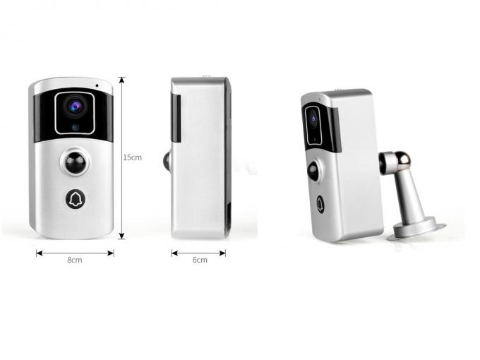 Multi-function Two in one WIFI Doorbell Camera 1080P 2Mega Pixels Battery Camera