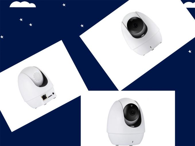 2 Mega Pixels Motion Activated Security Camera High Definition Color CMOS Chip