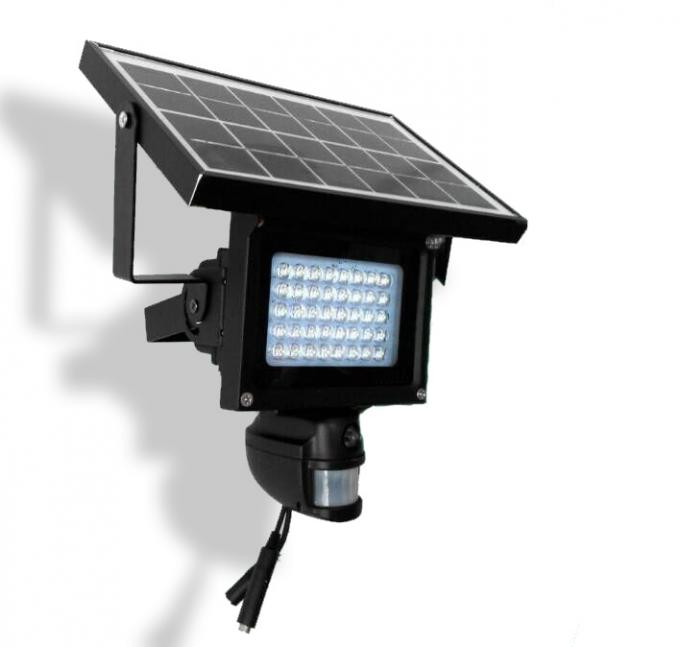 2000MAH Battery Wifi Security Camera Solar Powered CCTV PIR Lamp With LED Floodlight