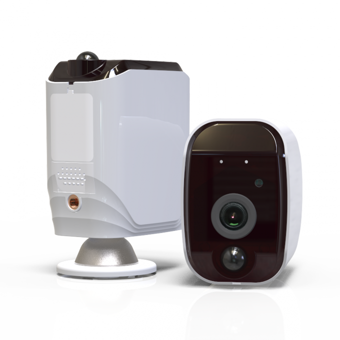 960P Hidden Home Security Cameras , Home Surveillance Camera Systems IP65 Weatherproof