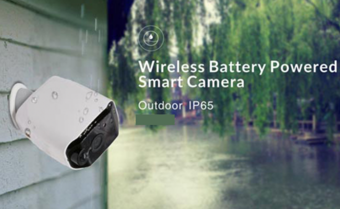 Wireless Wifi Security Camera Battery Powered HD 960P Resolution Support Night Vision