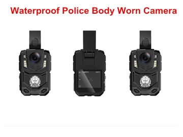 Battery Powered Police Officer Body Worn Cameras , Police Wearing Cameras