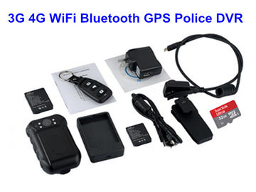 China Mini WIFI Body Camera CE Approved , Police Wearable Camera Remote Controller factory