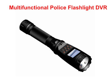 Super Bright Police Security Flashlight H.264 MP4 Video Format 16 Mega Pixel