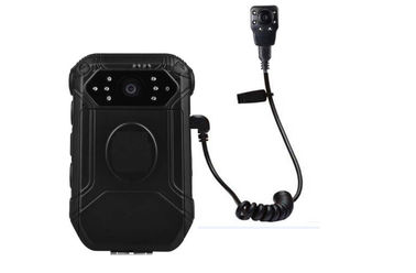 Police Wearable HD Body Camera 1080 P 140° Field View With Small Button