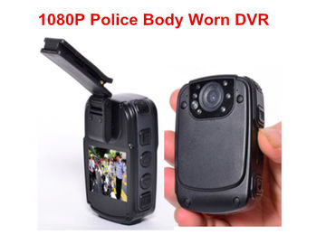 High Resolution Police Video Camera , Black Law Enforcement Body Camera