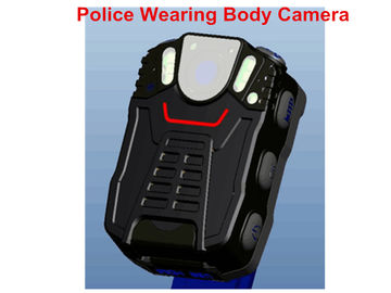 Full HD Body Camera 32G TF Card , Black Police Video Camera 2.0 USB Port