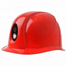 16 MP Mining Safety Helmet Camera 120 Degree Wide Angle View FCC Approved