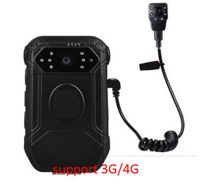 Portable IP65 Body Worn Camera With Night Vision 2 Inch Screen For Police