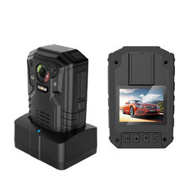 Built - In GPS 4G Body Worn Camera Micro SD Storage With 170 Degrees Wide Angle