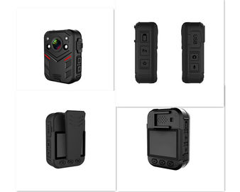 H.265 140 Degree Wide Angle IR Night Vision GPS 1080P 2''  Police Body Worn Camera
