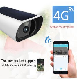 1080P 4G Solar Wifi Security Camera Ourdoor IP67 With Night Vision Motion Detection