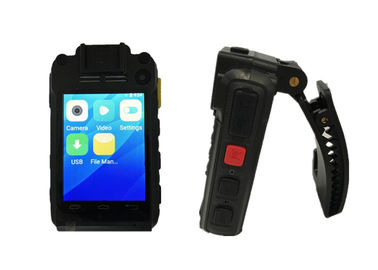 Real Time Police Worn Cameras With Night Vision 15 Meters Bluetooth Wi Fi