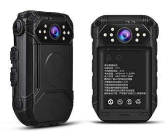 Android System Support Body Worn Camera 4G WIFI GPS Function With Night Vision
